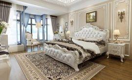 Sänky Beatriz Lux 180x200 valkoinen