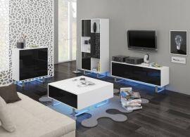 Living room set Foxtail-black-white