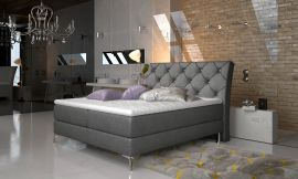 Boxspring bed Karleen -dark-grey-160x200cm