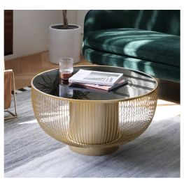 Round Coffee Table Albion-golden