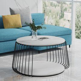 Pyöreä sohvapöytä Alejo