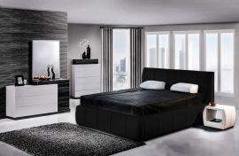Alicante Lux Sänky 160x200 musta