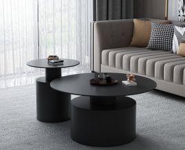 Pyöreä sohvapöytä Amador