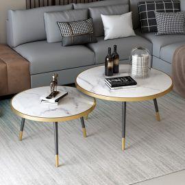 Pyöreä sohvapöytä Amancio