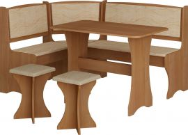 Dinning table set Angelina 6 person-wood