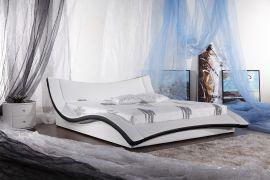 Sänky Antarctic Lux 160-180 musta-valkoinen