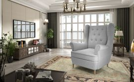 Armchair Tyke-light grey