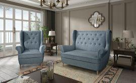 Sofa set Philomena 2+1-light blue