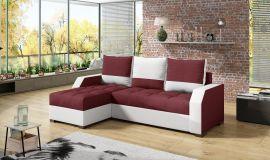 Corner sofa bed Cohen-red