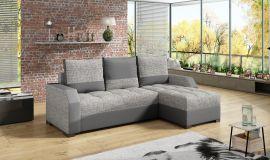 Corner sofa bed Cohen-light grey
