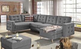 Corner sofa bed Enrique-dark-grey