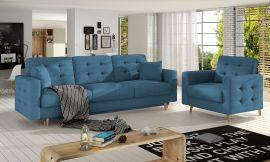 Sofa set Millicent 3+1-blue