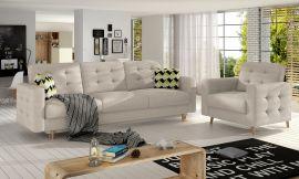 Sofa set Millicent 3+1-beige