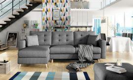 Corner sofa bed Dimitri-dark-grey