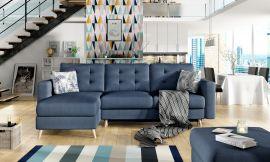 Corner sofa bed Dimitri-blue