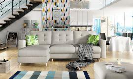 Corner sofa bed Dimitri-beige