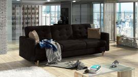 Sofa bed Coretta-dark brown