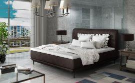 Bed Argento dark brown-160x200cm