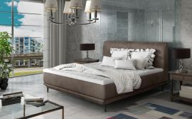 Bed Argento brown-160x200cm