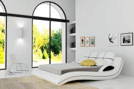Sänky Avellino Lux 160-180 musta-valkoinen