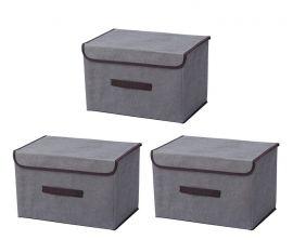 Säilytyslaatikko Axelle, 3 kpl sarja