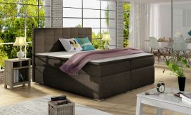 Boxspring bed Irina -brown-160x200cm