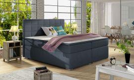 Boxspring bed Irina -blue-160x200cm