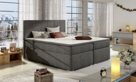 Boxspring bed Nordland 160-180-160x200cm-grey