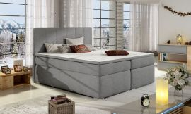 Boxspring bed Nordland 160-180-160x200cm-light grey