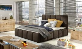 Bed Ares dark brown-160x200cm