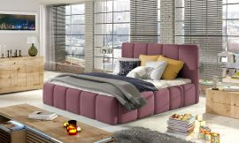 Bed Ares pink-160x200cm
