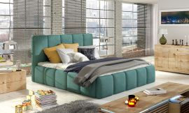 Bed Ares dark green-160x200cm