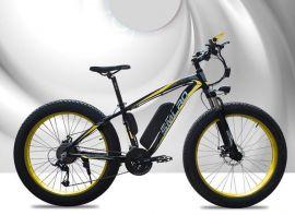 """E-Fatbike 26"""" sähkölaskipyörä 21-vaihdetta 350w 48V 10Ah akulla"""