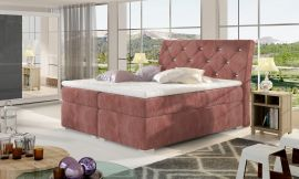 Boxspring bed Harriet -pink-160x200cm