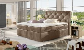 Boxspring bed Harriet -brown-160x200cm