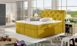 Boxspring bed Harriet -yellow-160x200cm
