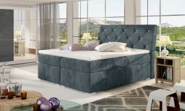 Boxspring bed Harriet -dark-grey-160x200cm