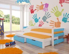 Children bed Flynn-blue
