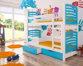 Children bed Marian-blue