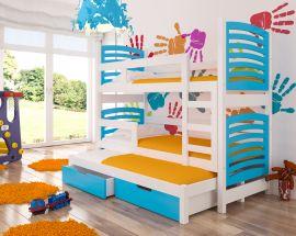 Children bed Narissa-blue