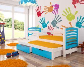 Children bed Malucia -blue