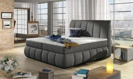 Boxspring bed Berson 140-180-160x200cm-grey