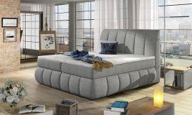 Boxspring bed Berson 140-180-160x200cm-light grey