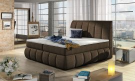 Boxspring bed Berson 140-180-160x200cm-brown