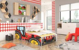 Lastensänky Tractor Punainen