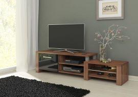 TV-Stand Charis-black-brown