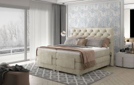 Adjustable Bed Set Astrid 160-180-160x200cm-beige