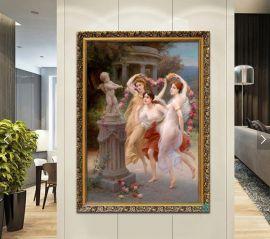 Seinätaulu Cupid And Three Graces