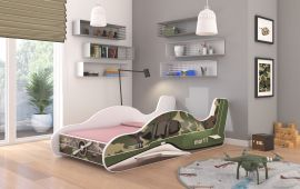 Children bed Plane Moro-140x70cm