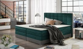 Boxspring bed Hillary -green-160x200cm